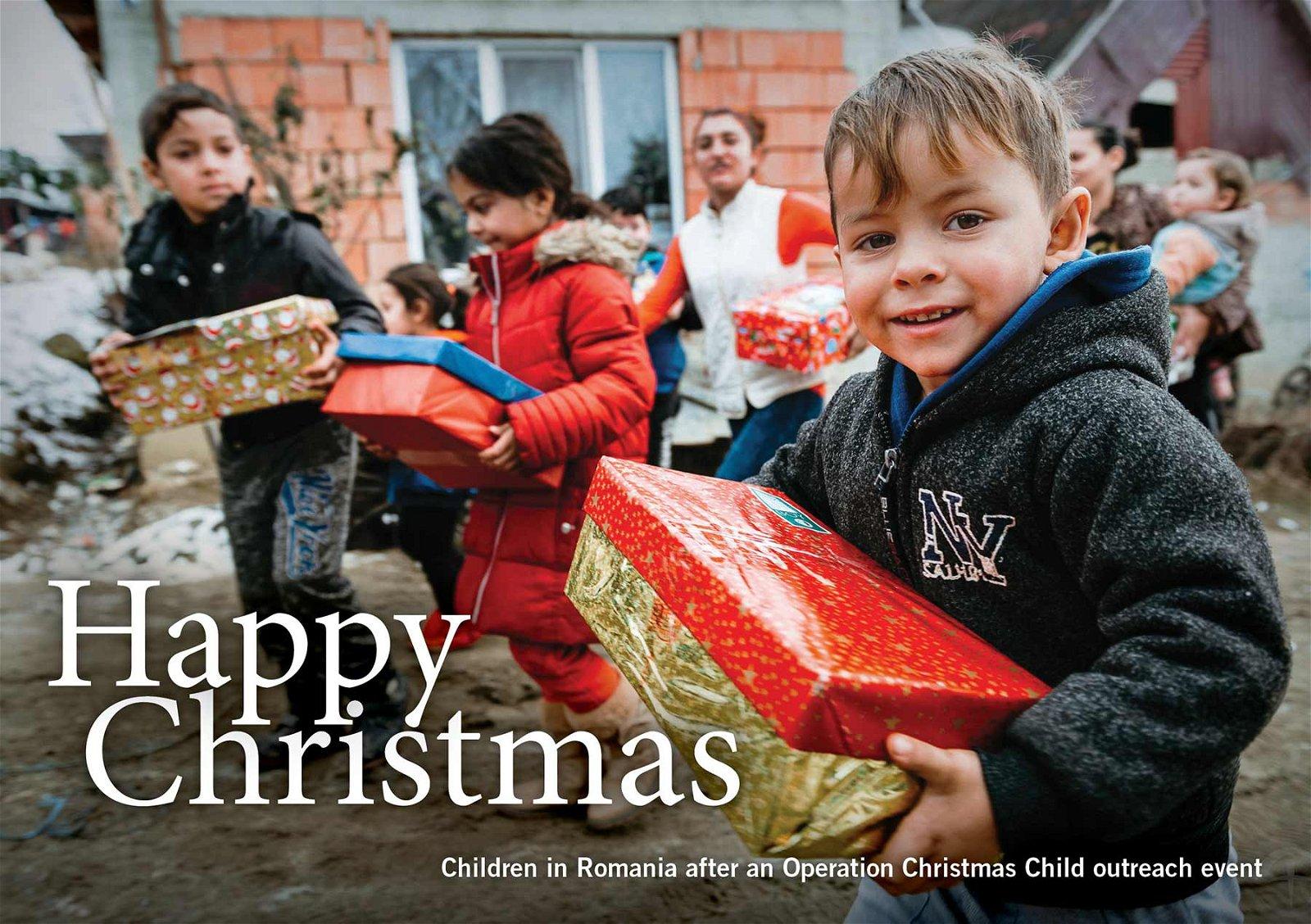 Christmas Operation Christmas Child