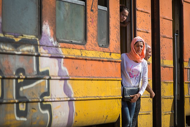 Refugees are facing increasing challenges to passage across Europe.