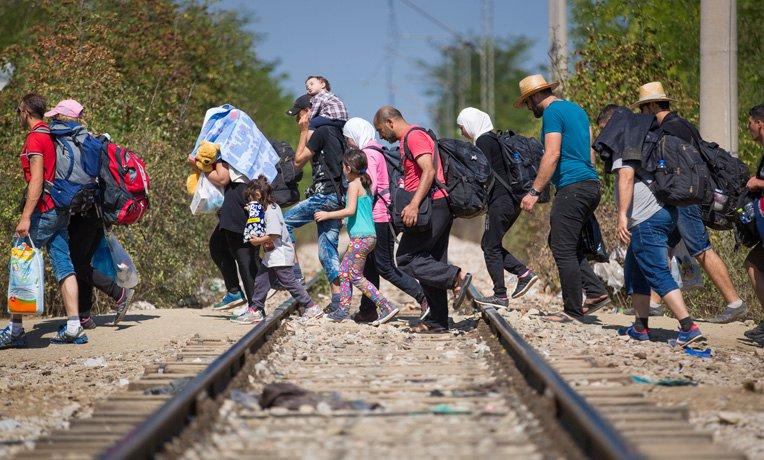 1597MD-A Europe Refugee Crisis Border