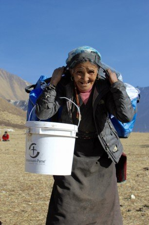 Supplies in Nepal
