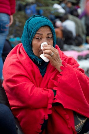 """Salma left her home in Iraq in search of a """"normal life."""" She believes that nothing could fix the destruction that's happened in her country."""