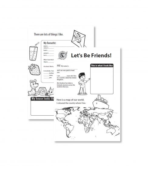 Let's be friends sheet