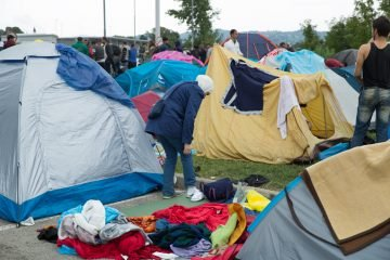 Refugee living conditions