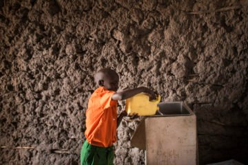 Water filters not only help combat deadly diseases but also open doors for evangelism among students and families in a rural Kenyan village.