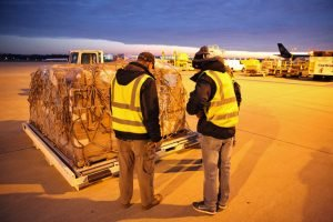 ITEMS FOR A FIELD HOSPITAL WERE AIRLIFTED ON THE 23rd OF DECEMBER. THE HOSPITAL IS EXPECTED TO BE OPERATIONAL ON THE 3rd OF JANUARY.