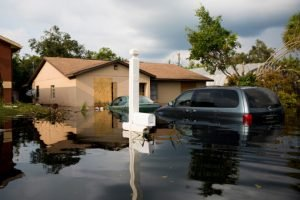 """alt=""""Millions of Floridians in the path of Hurricane Irma had to evacuate. Many homes and streets are still flooded. """""""