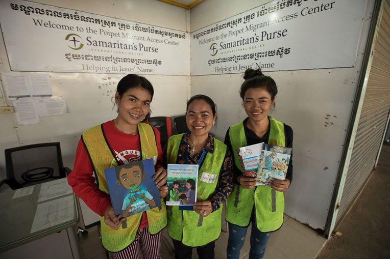 Our migrant access centre staff serve with compassion and demonstrate God's love.