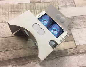 Google cardboard 360 degree video viewer