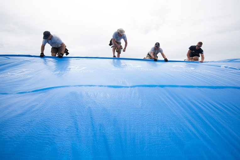 SAMARITAN'S PURSE REBUILD TEAMS ARE WORKING THROUGHOUT PUERTO RICO HELPING REPAIR AND RESTORE HOMES AND CHURCHES.