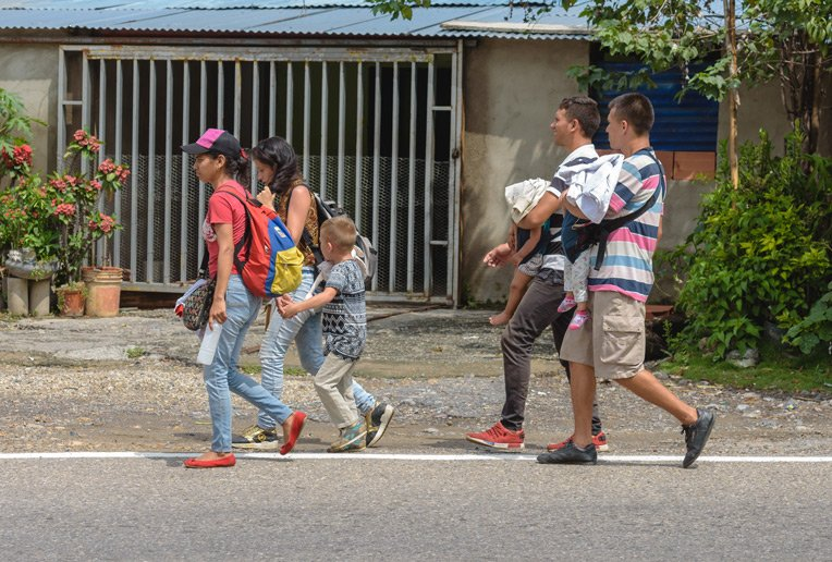 Many Venezuelans enter Colombia for good, hoping to start a new life for themselves and their children.
