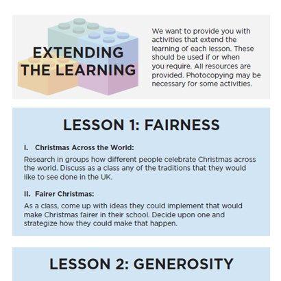 Extending the learning