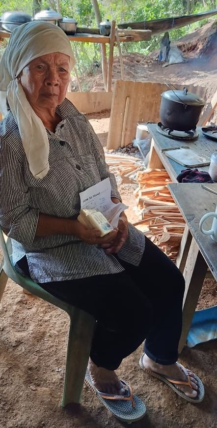 Teams in the Philippines are also working to produce and distribute soap to help families prevent the spread of COVID-19.