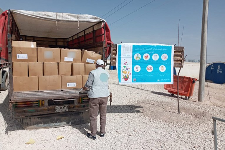 Since January, Samaritan's Purse has distributed nearly 700 tons of food to internally displaced people in Syria through our local partners.