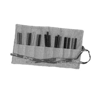 Pen and Pencil roll Black and White
