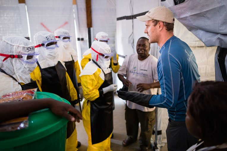 In 2018 we responded to an Ebola outbreak in Democratic Republic of Congo.