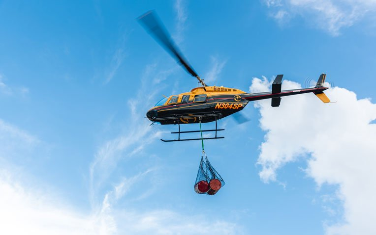 After Hurricane Dorian wiped out communities in the Bahamas last autumn, our helicopters delivered much-needed fuel to cut-off parts of the island nation.