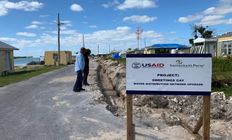 Samaritan's Purse is helping restore water to Sweetings Cay, a community on Grand Bahama hit hard by Hurricane Dorian in 2019.