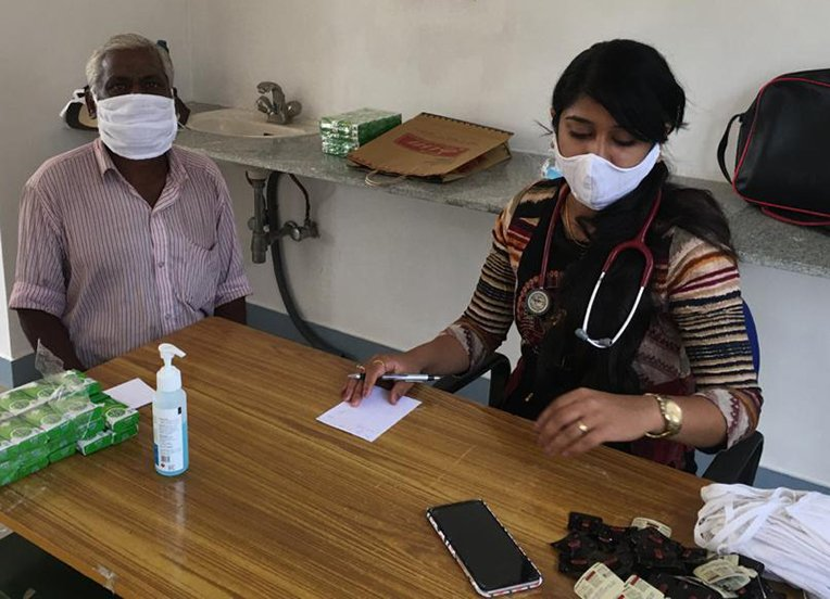 Samaritan's Purse is providing PPE for frontline staff in India and Nepal