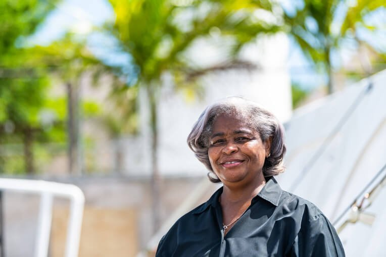 Mary Lightbourne-Walker, the Princess Margaret Hospital administrator, says the hospital can now accommodate 18 more patient beds thanks to Samaritans' Purse.