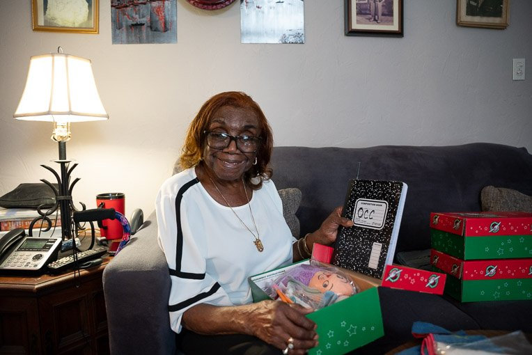 Sallie trusts God to use every shoebox gift to make an eternal difference in the life of a child.